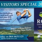 Ross Golf Club Advert