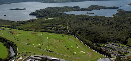 Drone view of Killarnery racecourse