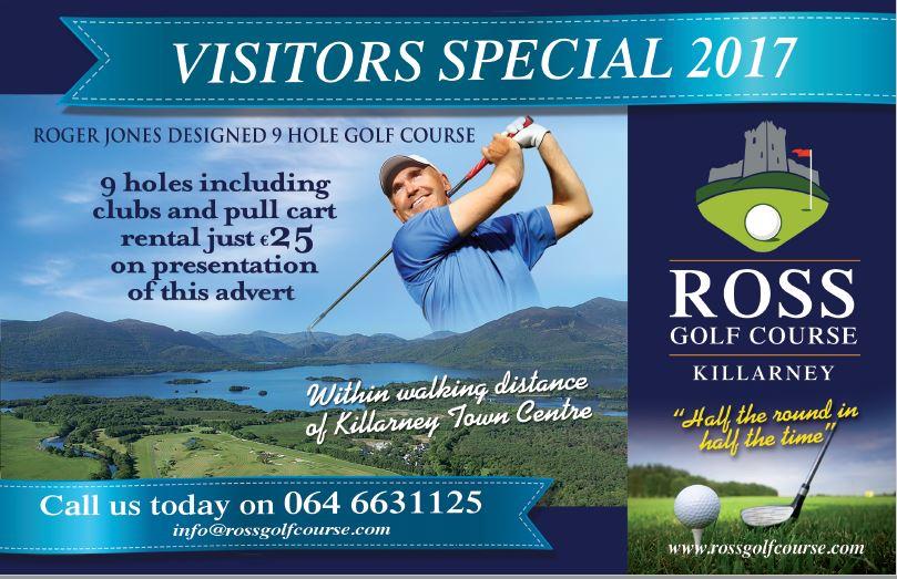 Ross Golf Club Advert